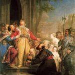 Baccierelli, Kazimierz-Wielki-słuchający-próśb-chłopów