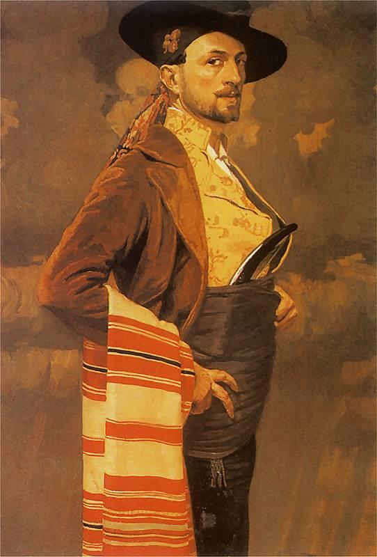 Edward_Okuń_-_Autoportret_1911