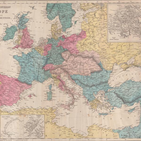Central_and_Southern_Europe_Map_1855 - kwadrat