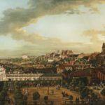 MP 228; Bellotto, Bernardo zw. Canaletto (1721-1780) (malarz); Widok Warszawy z tarasu Zamku Kr—lewskiego; 1773; olej; p¸—tno; 166 x 269 [186 x 288 x 8]