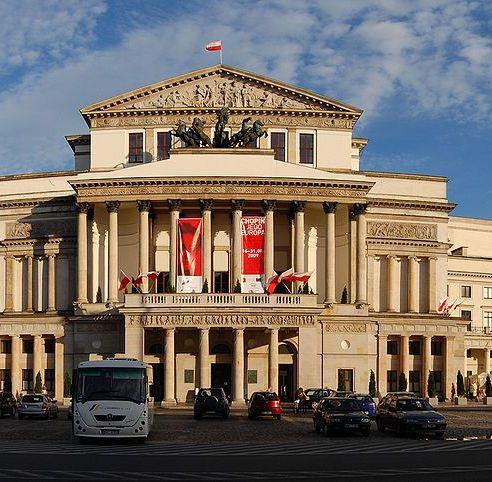 Antonio Corazzi - Teatr Wielki w warszawie - kwadrat