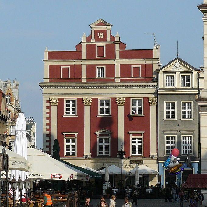 Tomasz Poncino -  Kamienica Czerowna w Pozaniu, Stary Rynek - kwadrat