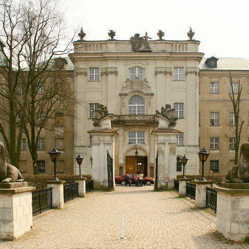 Pompeo Ferrari - Zamek w Rydzynie - kwadrat